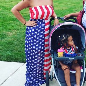 Dresses & Skirts - Patriotic dress. Fourth of July. July 4th